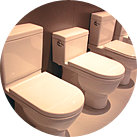 We represent a full-spectrum of the highest-quality brands available; companies who manufacture everything from rough pipe in the ground – to the finest fixtures in your bathroom.