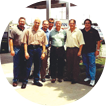 Contractors, engineers and architects tour the Sloan Valve plant