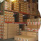 Kliman Sales has 50,000 sq ft hi-cube, seismic-racked warehouse space