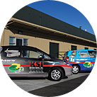 Kliman Sales has a fleet of delivery and service vehicles in San Jose and Sacramento